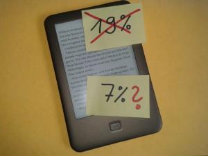 Mehrwertsteuer für E-Books