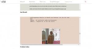 """Screenshot von Hundertvierzehn.de """"Zwei Mädchen im Krieg""""."""