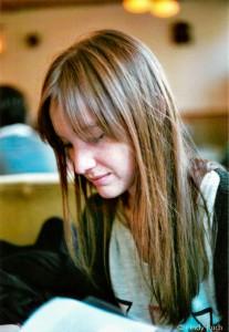 schreibstation Bloggerin Verena (Foto: Cindy Ruch)