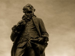 Goethe-Statue in Leipzg. CC-BY-2.0 motograf - https://www.flickr.com/photos/motograf/