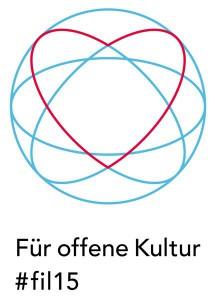 Das #fil15-Logo ist ein Zeichen für offene Kultur.