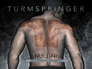 """Düstere Stimmung verspricht das Cover der Graphic Novel """"Turmspringer""""."""