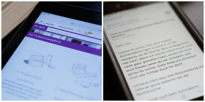 Buchempfehlungen per E-Mail von MyBook. Bild: CC-BY-SA 4.0 Lisa-Marie Reingruber.