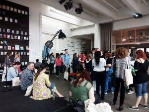 Im Verlagsgebäude von Bastei Lübbe wartete auf die BloggerInnen ein volles Programm. CC BY-NC-SA 4.0 Kristina Petzold