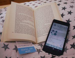 Zum Üben braucht der User nichts als sein Smartphone. CC BY Vanessa Hellwig