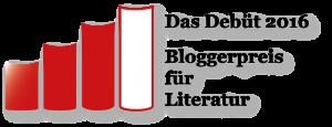 Logo Das Debüt 2016 – Bloggerpreis für Literatur