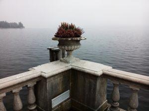 Die Aussicht der KonferenzteilnehmerInnen auf den Starnberger See,