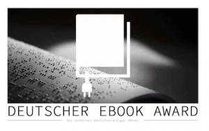 Der deutsche eBook Award wird am 12.10. auf der Frankfurter Buchmesse verliehen. Bild: https://deutscher-ebook-award.de