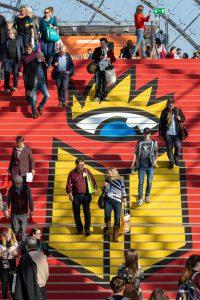 Leipziger Buchmesse 2019. Foto: Tom Schulze. Pressezentrum der Leipziger Buchmesse.