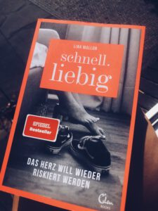 "Buchcover Lina Mallon ""Schnell.liebig"" (Foto: Olga Wagner)"