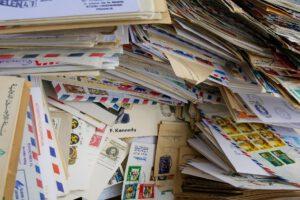 Post über Post.